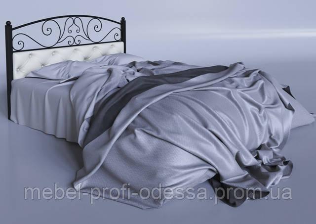Астра 1600х2000 Металлическая двуспальная Кровать фабрика Тенеро (Tenero) в Одессе