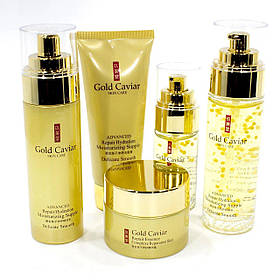 Набор средств JOMTAM Gold Caviar c частичками золота и экстрактом икры по уходу за лицом  КОД: 3961-11458