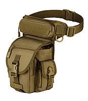 Сумка набедренная тактическая Protector Plus K314 Coyote  КОД: hub_QgZv94844