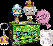 Бокс Funko Фанко Рик и Морти Рик Rick and Morty GameStop Exclusive BOX RM 6
