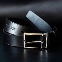 Мужской ремень брючный Anchor Stuff Gentleman Belt 125 см Черный КОД: as200103