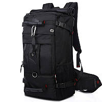 Рюкзак-сумка KAKA 2070 D 50 литров с кодовым замком Черный  КОД: 4217-12283