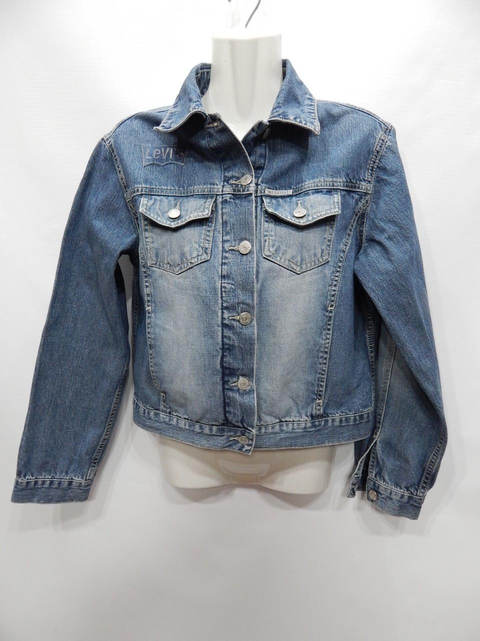 Куртка джинсовая женская MULTIBLU Vintage, RUS р.46-48, EUR 38 060DG