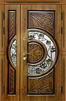 Двери входные металлические полуторные модель Адамант New