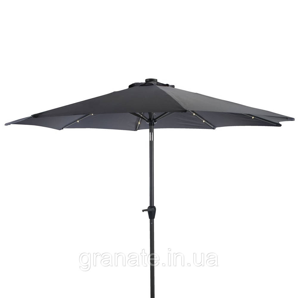 Зонт для кафе, Зонт садовый с клапаном 2.7 м с ручкой для подьема