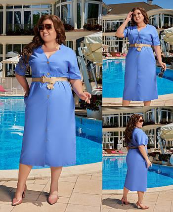 Плаття великого розміру 4107, фото 2
