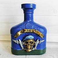 Подарунок десантникові Декор пляшки За ВДВ (ДШВ) Сувеніри військової тематики на 23 лютого