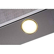 Вытяжка VENTOLUX GARDA 60 INOX (750) SMD LED нержавейка, фото 2