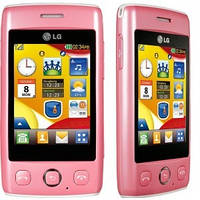 Корпус LG T300 Cookie Lite розовый, High Copy