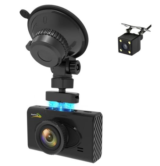 Відеореєстратор Aspiring Alibi 6 dual wi-fi GPS magnet