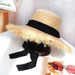 Женская соломенная шляпа. Модель А-2