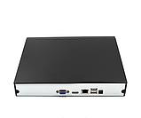 Регистратор для захвата видео с камер DVR MVR 1008 4.0mp для IP камер 8-CAM чёрный, фото 2