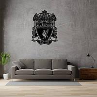 Деревянная эмблема футбольного клуба «Ливерпуль», фото 1