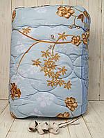 Одеяло-Плед 142*205 Руно шерстяное голубое