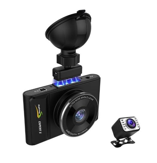 Видеорегистратор ASPIRING EXPERT 5 DUAL, WI-FI, GPS, MAGNET