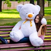 Большой плюшевый медведь пузатый мишка 140 см