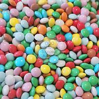 Драже из молочного шоколада - Разноцветное Ø10 мм - 1 кг, фото 1