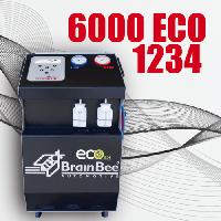 Установка для обслуживания автомобильных кондиционеров Brain Bee CLIMA 6000 ECO 1234y (без принтера)