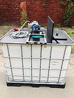 Промышленная мешалка (миксер) для еврокуба 600 л (в комплекте), фото 1