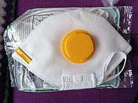 Респиратор маска с клапаном Рута класс защиты FFP2