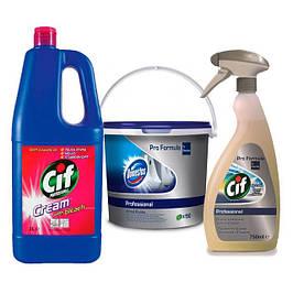 Професійні засоби для прибирання