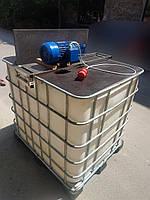 Промышленная мешалка (миксер) для еврокуба 1000 л (в комплекте), фото 1