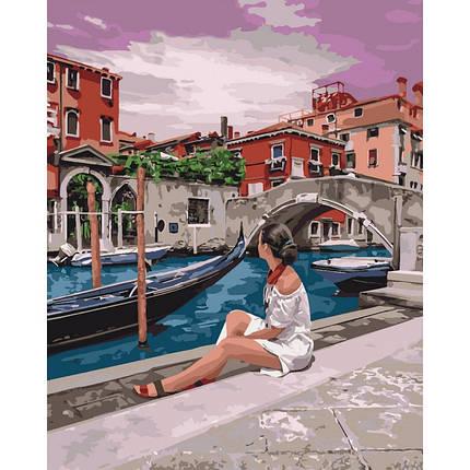 """Картина по номерам.""""Удивительная Венеция"""" 40*50см, фото 2"""