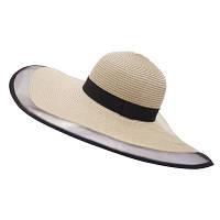 Жіноча солом'яний капелюх. Модель А-3, фото 4