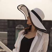Жіноча солом'яний капелюх. Модель А-3, фото 5