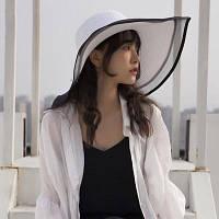 Жіноча солом'яний капелюх. Модель А-3, фото 2