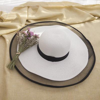 Жіноча солом'яний капелюх. Модель А-3
