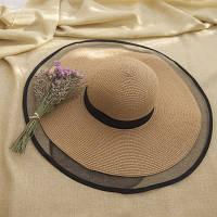 Жіноча солом'яний капелюх. Модель А-3, фото 9