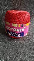 Мерсеризує бавовна COTONEX EVA 5 №120 Червоний
