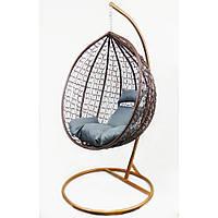 Подвесное кресло качалка кокон качеля B-183B качели для террасы (підвісне крісло гойдалка для тераси), фото 1