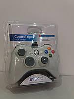 Джойстик U360 USB проводной для игр на компьютере и ноутбуке