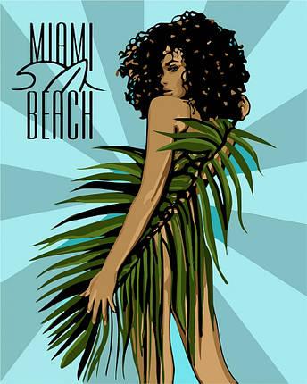 """Картина по номерам. """"Miami Beach"""" 40*50см, фото 2"""
