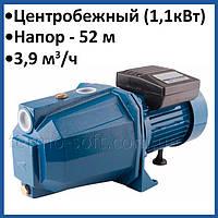 Поверхностный насос для воды WOMAR JET 180 1,1 кВт самовсасывающий центробежный для дачи, дома, полива