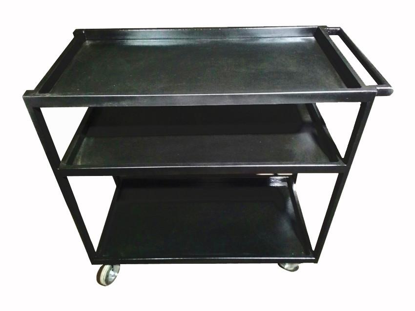 Візок для інструменту (внутрицеховая) 3 полиці, 1055*1100*540 мм