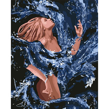 """Картина по номерам """"Стихия воды"""" 40*50см, фото 2"""