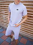 Мужской летний комплект футболка шорты, фото 2