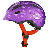 Велосипедний дитячий шолом ABUS SMILEY 2.0 S 45-50 Purple Star