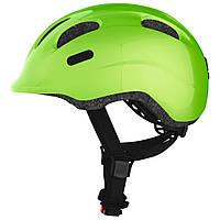 Велосипедний дитячий шолом ABUS SMILEY 2.0 S 45-50 Sparkling Green