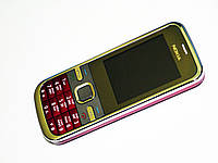 Телефон Nokia C5 Duos Красный - 2Sim+Bluetoth+Camera-Метал.корпус, фото 1