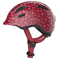 Велосипедний дитячий шолом ABUS SMILEY 2.0 S 45-50 Cherry Heart