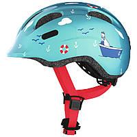 Велосипедний дитячий шолом ABUS SMILEY 2.0 S 45-50 Turquoise Sailor