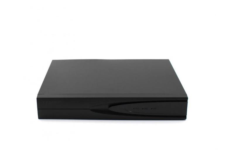 Регистратор для захвата видео с камер DVR MVR 1008 4.0mp для IP камер 8-CAM чёрный
