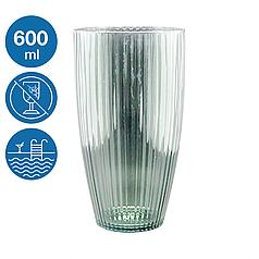 Склянка акрилова Жадор небиткий багаторазовий посуд для басейну яхти кейтерингу склопластик 600 мл