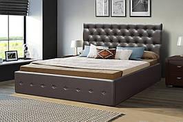 Ліжко двоспальне м'яка з підйомним механізмом Колізей, Мікс меблі