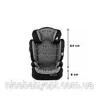 Автокрісло Kinderkraft Xpand Gray 15-36 кг (група 2-3), фото 9