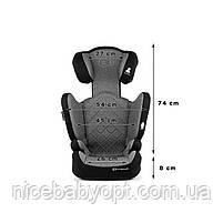 Автокрісло Kinderkraft Xpand Gray 15-36 кг (група 2-3), фото 8